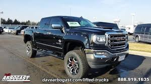 100 Black Lifted Truck 2017 Widow GMC Sierra Dave Arbogast G11460