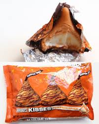 Pumpkin Spice Hershey Kisses Cookies by 33 Pumpkin Flavored Things You Didn U0027t Know Existed