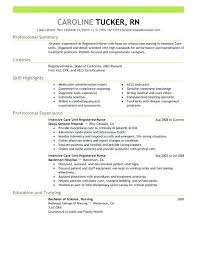 Nursing Resume Examples 2017 Resumes Intensive Care Unit Registered Nurse Healthcare Example Emphasis 2 Rn