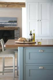 blue painted kitchen cabinets stadt calw