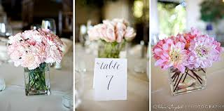 Wedding Centerpieces Romantic White And Light Pink Flowers