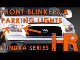 2007 2013 toyota tundra led turn signal parking lights