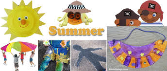 Summer Preschool And Kindergarten Activities Games Crafts