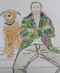 Coloring Ryan Gosling Coloring Book Urban Outfitters Plus Colour