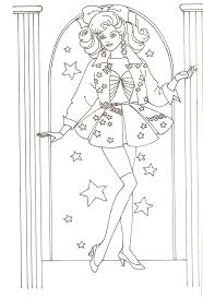 Free Barbie Doll Colouring Pages Coloring Book Adult Dolls Princess Full Size