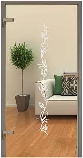 rs interhandel glastür aufkleber folie glasdekor fensterfolie sichtschutz wohnzimmer gdt005 ca 80cm x 10cm