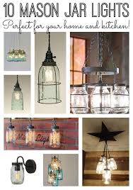 jar kitchen lights for your home the country chic cottage
