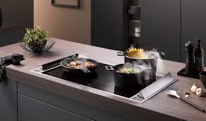 downdraft dunstabzug leise effizient plana küchenland