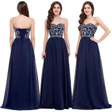 dw 2016 cheap navy blue long cheap prom dresses elegant sweetheart