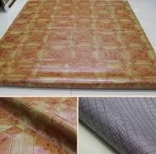 New Design PVC Flooring Roll Wood Texture Felt Floor Covering