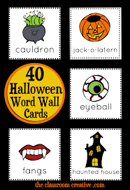 Halloween Treasure Hunt Clues Free by Halloween Scavenger Hunt A Fun Halloween Literacy Center