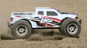 100 Monster Truck Pictures Losi 110 TENACITY 4WD Brushless RTR With AVC White