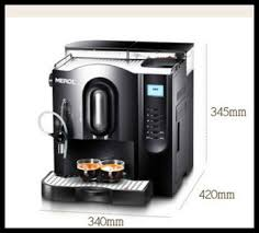 Full Automatic Office Coffee Machine Italian Commercial Expresso