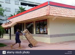 Boca Raton Florida Burger King Fast Food Restaurant Exterior ...