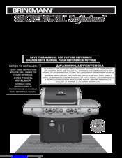 Brinkmann Electric Patio Grill Manual by Brinkmann Smoke U0027n Grill Professional Manuals