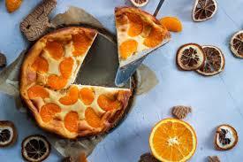 rezept mandarinen käsekuchen mit keksboden vegan