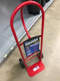 HF Hand Truck....Hard Vs Inflatable Tires [Archive] - The Garage ... Dollies Moving Supplies The Home Depot 150 Lbs Capacity Foldable Hand Truck With Wheels Harbor Crown Pth Heavy Duty Pallet Jack 2748 5000 Lb Gleason Recalls Trucks Due To Laceration And Injury Hazards Replace Wheel On Freight Youtube Thrghout Milwaukee 800 Lb Dhandle Truckhd800p Diy Welder Cart From Harbor Freight Hand Truck Diy Projects 24 In X 36 Folding Platform Pneumatic Best 2018 Haulmaster 700pound Bigfoot Available On Black 2 In 1 Convertible 600