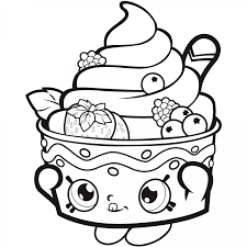 Download Free Shopkins Coloring Page 768x768