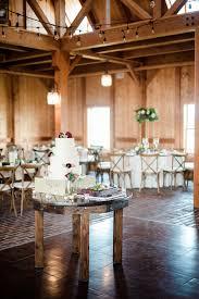 Rustic Barn Wedding Cake Table