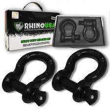 100 Truck And Winch Coupon Code Amazoncom Rhino USA D Ring Shackle 2 Pack 41850lb Break