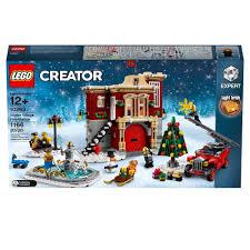 100 Lego Fire Truck Games New LEGO Creator Winter Village Station Figurescom