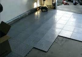 Garage Floor Modern Concept Tiles Flooring Image Concrete Lowes