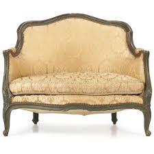 canape louis xv louis xv style antique painted settee silla antiques