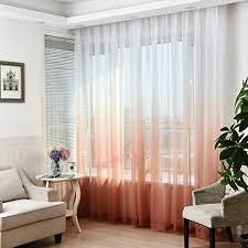 gardinen gardinen gardinen vorhänge fenster behandlung voile panels für wohnzimmer dekoration 100 270 cm 2 panel