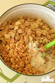 Pumpkin Spice Chex Mix With Candy Corn by Pumpkin Spice Caramel Chex Mix Little Dairy On The Prairie