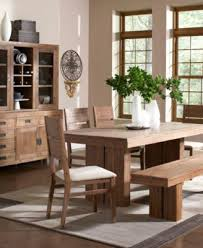 chagne dining trestle table created for macy s furniture