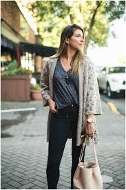 Cupcakes And Cashmere Noely Leopard Cardigan Fall Outfit Ideas 0701