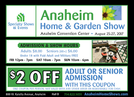 Anaheim Home & Garden Show | Coupon Coupon For Home And Garden Show Lovely Mg 6569 Copy Backyard Escapes Tickets Coupons Fort Wayne Northwest Flower As The Pipe Turns How To Save At Lowes Rebates More Codes Flipkart Shopclues Couponspaytm Fall Custom Stone Creations New Connecticut Pittsburgh 21 And Decor23