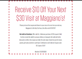 Maggianos Carryout Coupon : Missouri Quilt Company Coupon Pizza And Pie Best Pi Day Deals Freebies For 2019 By Photo Congress Dollar General Coupons December 2018 Chuck E Cheese Printable Coupon Codes May Cheap Delivered Dominos Vs Papa Johns Little Caesars Watch Station Coupon Coupon Oil Change Special With And Krazy Lady App Is Donatos 5 Off Lords Taylor Drses The Pit Discount Code Bbva Compass Promo Lepavilloncafeeu Black Friday Tv Where To Get Best From Currys Argos Papamurphys Locations Active Deals