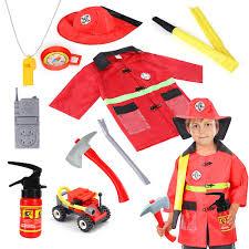 100 Fire Truck Halloween Costume Amazoncom Qunan Man Chief Dress Up Pretend Role
