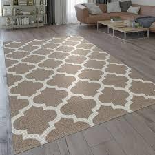 teppich orient design marokkanisches muster beige