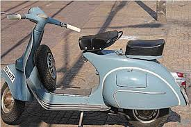 The Restoration Project Started With This Well Used 1963 VBC Vespa Image Courtesy Of AllVespa