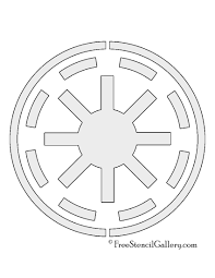 Star Wars Printable Pumpkin Carving Templates by Star Wars Galactic Republic Symbol Stencil Free Stencil Gallery