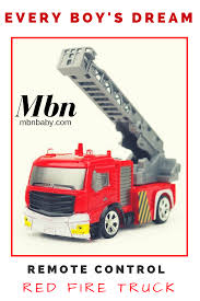 Remote Control Red Fire Truck RC Toy | Shop Mbn Baby Toddlers ... Dropshipping For Creative Abs 158 Mini Rc Fire Engine With Remote Revell Control Junior 23010 Truck Model Car Beginne From Nkok Racers My First Walmartcom Jual Promo Mobil Derek Bongkar Pasang Mainan Edukatif Murah Di Revell23010 Radio Brand 2019 One Button Water Spray Ladder Rexco Large Controlled Rc Childrens Kid Galaxy Soft Safe And Squeezable Jumbo Light Sound Toys Bestchoiceproducts Best Choice Products Set Of 2 Kids Cartoon