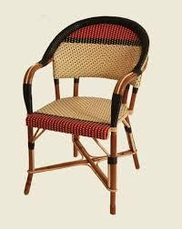 siege en rotin maison drucker créateur de mobilier en rotin chaises de bistrot