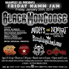 Friday NAMM Jam With Black Mongoose With Special Guests Breaking