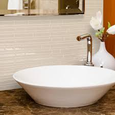 Smart Tiles Peel And Stick by Smart Tiles Milano Crema 11 55 In W X 9 63 In H Peel And Stick