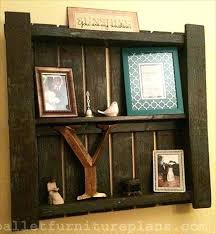 Pallets Shelves Pallet To Manage Your Things Furniture Plans Diy Wooden