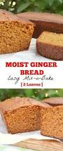 Cake Mix Pumpkin Bread by Moist Ginger Bread Recipe Ginger Bread And Recipes