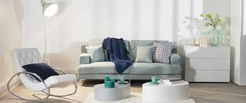 canap bleu clair canapé design 3 places tissu bleu clair bomen miliboo