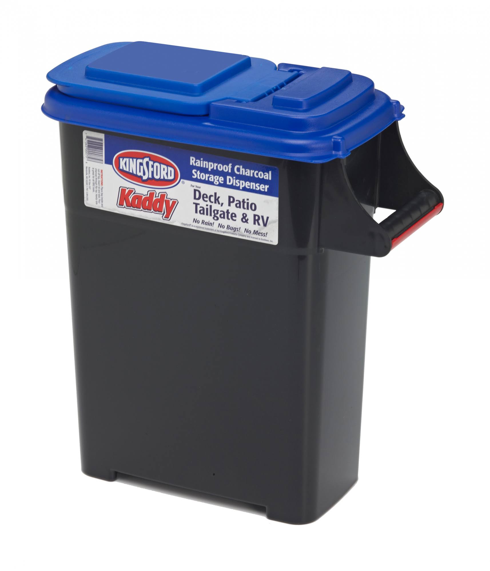 Buddeez Kingsford Kaddy Charcoal Dispenser - 12lb