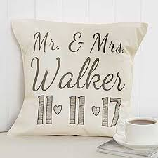 Personalized Wedding Throw Pillow 14