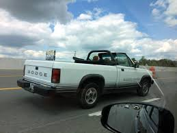 1989 Dodge Dakota Sport Convertible My Sister Spotted In Arkansas ...