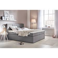 boxspringbett kaz mit visco topper