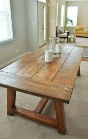 Perfect Farm Style Dining Table Farmhouse With Bench And Chair Trestle Plan Kitchen For Sale Room