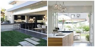 cuisine exterieure moderne aménagemez une cuisine ouverte sur l extérieur ideeco
